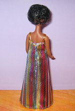 Metallic Stripes --Gorgeous fabric!