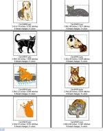 Cats & Dogs card 16 page 2