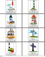 New England East Coast Lighthouses--Page 1