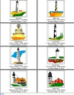 New England East Coast Lighthouses--Page 2