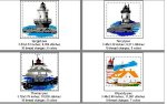 New England East Coast Lighthouses--Page 3