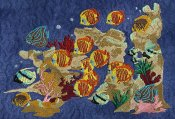 Large Coral Reef Scene 1
