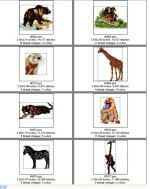 Zoo Animals--Page 1