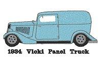 1934 Vicki Panel Truck