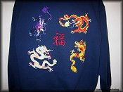 4 Chinese Dragon & Good Fortune