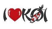 New I Love Koi