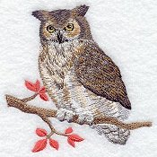Autumn Owl small