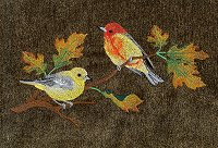 Autumn Tanagers