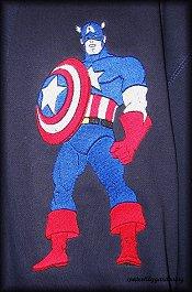 Captain America Standing