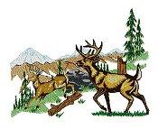 Deer Scene 3