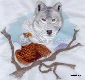 Eagle & Wolf