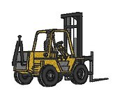 Heavy Equipment Forklift