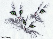 Cat Face Trio