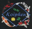LARGE Koiphen logo with Water Lily