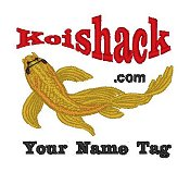 KoiShack --Gold Butterfly