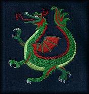 Korean Dragon Green