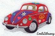1967 Volkswagon Beetle (hippie style)